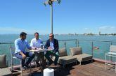 Las concejalías de Deportes de San Pedro del Pinatar, San Javier y Los Alcázares sumarán esfuerzos para situar el Mar Menor en la agenda deportiva internacional