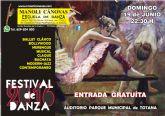La Escuela de Danza MANOLI CÁNOVAS celebra su FESTIVAL de fin de curso el próximo domingo 19 de Junio