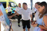 Un total de 40 socorristas vigilan este verano las playas de San Pedro del Pinatar