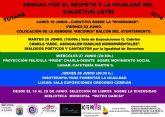 Mañana arranca el programa de actividades de la Semana por el Respeto y la Igualdad del Colectivo LGTBI