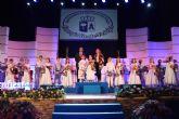 Natividad Saura y Micheline Lucette , reinas Infantil y de la Tercera Edad de las Fiestas Patronales de San Pedro del Pinatar