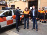 Los voluntarios de Protección Civil de Abarán cuentan con un nuevo vehículo para sus intervenciones