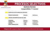 415 aspirantes se presentarán a los procesos selectivos para 24 plazas vacantes en el Ayuntamiento