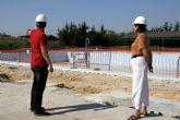 Las obras de modernización de la piscina climatizada finalizarán en otoño