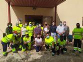 15 desempleados participan en La Huertecica en un proyecto para mejorar su acceso al empleo
