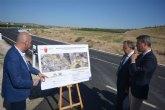 La carretera Yecla-Fuente Álamo se amplía con un nuevo carril para aumentar la seguridad vial