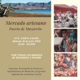 El Mercado Artesano regresa este sábado a Puerto de Mazarrón en una nueva ubicación