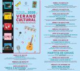 El Ayuntamiento torreño presenta un programa cultural lleno de música, cine y teatro para las noches de verano