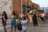 Las fiesta de El Mojón culminan con la procesión de San Roque