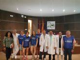 Salud colabora con la asociación ´Piedras Vivas´ para acompañar a enfermos en el hospital de Cieza