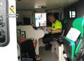 La Guardia Civil detiene al conductor de un furgón por circular bebido y en sentido contrario