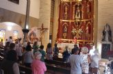La devoción de los fieles acompañó al Cristo del Mar Menor