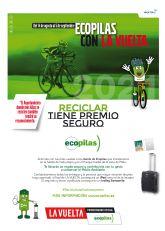 La Vuelta Ciclista a Espana sale este domingo desde Puerto Lumbreras por segunda vez en cuatro anos