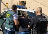 La Guardia Civil esclarece en Cieza un hurto en una vivienda de Barcelona