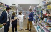 Las farmacias murcianas asesoran cada día a más de 20.000 murcianos sobre pruebas y protocolos anti COVID