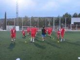 Las instalaciones de la Concejal�a de Deportes acogen desde el pasado lunes los entrenamientos del equipo de Tercera Divisi�n, Ol�mpico Club de F�tbol