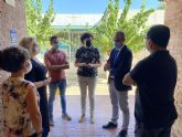 El director general de Planificación Educativa y Recursos Humanos visita los centros educativos de Puerto Lumbreras, que han comenzado el curso 'con total normalidad'