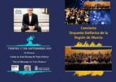 Daniel Ros debuta como director de la Orquesta Sinfónica de la Región de Murcia
