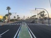 Los vecinos de EuroRoda ya disponen de un semáforo peatonal para cruzar la avenida Cartagena