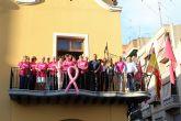 La Junta Local de la Asociación Española Contra el Cáncer adelanta en Alcantarilla la conmemoración del Día Mundial contra el Cáncer de Mama, a hoy con diversos actos