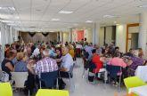 El centro social de personas mayores disfruta  de la comida de convivencia de su Semana Cultural