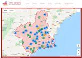 Un mapa interactivo difunde más de 500 sonidos representativos de la Región de Murcia
