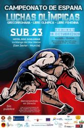 Los Campeonatos de España de Lucha Olímpica dejarán este fin de semana en La Manga medio millar de pernoctaciones