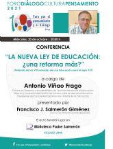 Conferencia 'la nueva ley de educación: ?una reforma más?'