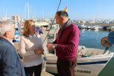 Las condiciones climáticas favorecen una excelente campaña de la dorada en el Mar Menor