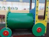 Reparada la atracción infantil dañada en el parque de La Estación
