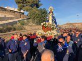 La 'Virgen del Milagro' congrega a centenares de fieles que han disfrutado de la romería de Bolnuevo