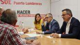 El Secretario de Estado de Medioambiente, Hugo Morán, se reúne con la Comunidad de Regantes de Puerto Lumbreras
