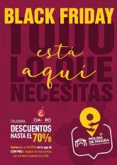 El Ayuntamiento de Molina de Segura pone en marcha la campaña de comunicación BLACK FRIDAY 2020 para promocionar el comercio minorista local
