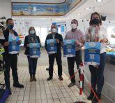 Se presenta en San Pedro del Pinatar una nueva acción de la campaña promocional 'fruto del mar'