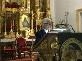 El maestro belenista Jesús Griñán pregonó anoche la Navidad en San Javier