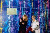Vecinos y visitantes ya disfrutan el mural de Carlos Callizo