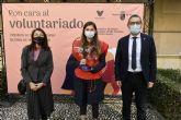 El Programa de Voluntariado de la Universidad de Murcia recibe el premio de la Comunidad Autónoma