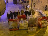 Llega a Mula una tonelada de alimentos solidarios pertenecientes a la Unidad de Fuerza de Guerra Naval Especial