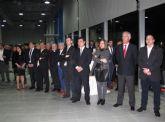 El alcalde agradeció a José Cortés, gerente de Automoción Cortés, su implicación profesional y social con el municipio en su 40° aniversario de la empresa y el 10° de su ubicación en San Javier