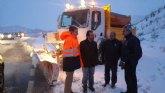 Se incrementan las labores de prevención y retirada de nieve en 21 carreteras regionales por la ola de nieve