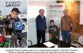 ECONEX patrocina al joven piloto de Santomera Álvaro Jiménez