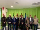 El alcalde de Pliego ha estado con el Secretario General de Industria y PYMES del Ministerio de Industria
