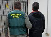 La Guardia Civil detiene en Torre Pacheco a un experimentado delincuente dedicado a cometer estafas