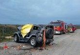 Servicios de emergencia no han podido salvar al conductor de un turismo, que ha muerto en accidente ocurrido en Fuente Álamo