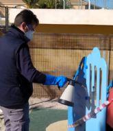 El Ayuntamiento refuerza la limpieza y desinfección de espacios públicos frente al Coronavirus