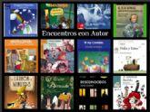 El escritor Pablo Albo presenta su libro 'Pollo y Reizo' a 250 escolares de 3 y 4 años de Educación Infantil dentro de los 'Encuentros con Autor'