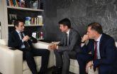 José Ángel Alfonso mantiene un encuentro con Teodoro García en Génova para analizar las demandas de Molina de Segura