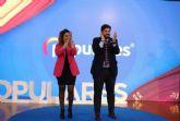 López Miras: 'Silvia Ruiz es la persona necesaria para que se vuelva a crear empleo de calidad en Alguazas'