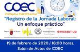 COEC organiza dos jornadas técnicas en Cartagena y Fuente Álamo sobre la nueva regulación de control horario