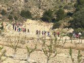 Los picachos de Verdelena acogieron la sexta ruta senderista del Colegio El Ope